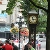 steam clock in Gastown, Vancouver