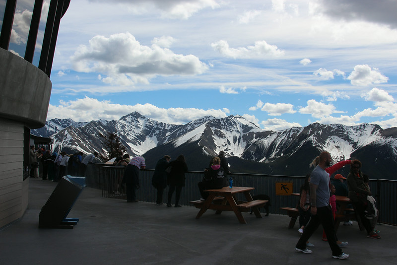 summit of gondola ride