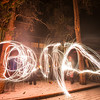 Crazy sparkler shapes