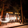 More cool sparkler shapes