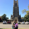 Duke Chapel when Maria and Doug visit!