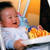 1999-01-16 Noah in Rocker Swing with Toy Giraffe112