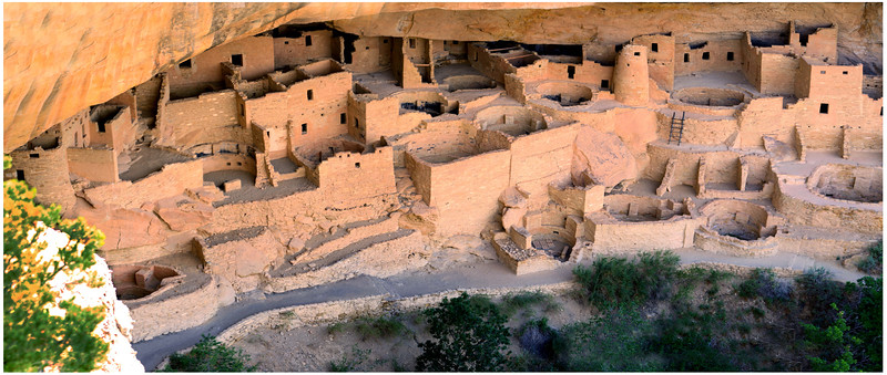 Cliff Palace Cliff Dwellings - Mesa Verde National Park