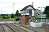 Poyntzpass signal cabin which closed after the line was upgraded in the 1990's. Sun 20.07.14