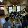 RESESS leadership training at Chautauqua, May 19, 2015. (Photo/Melissa Weber, UNAVCO)