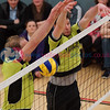 Glasgow Mets 3 v 2 CoG Ragazzi (30-28, 25-15, 17-25, 22-25, 15-8), Scottish National League, Emirates Arena, Glasgow, Fri 27th Mar 2015