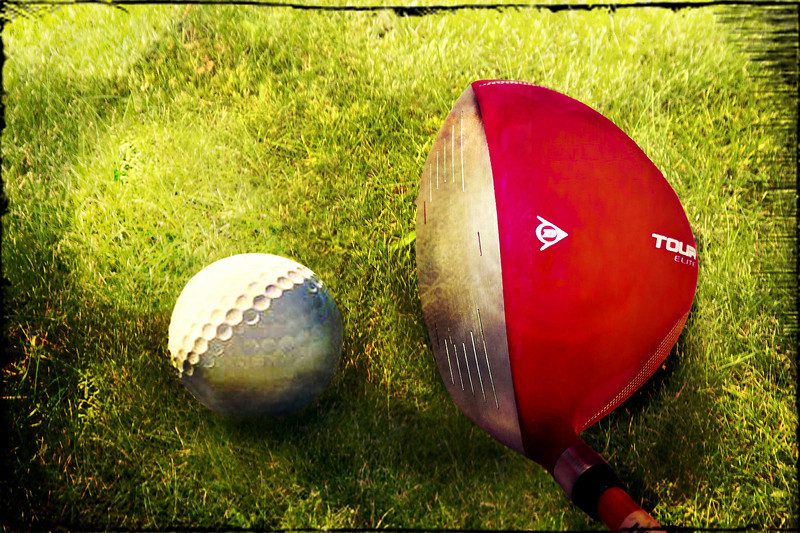 Golf is a game in which one endeavours to control a ball with implements ill adapted for the purpose.