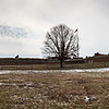 Fort McHenry on a chilly day