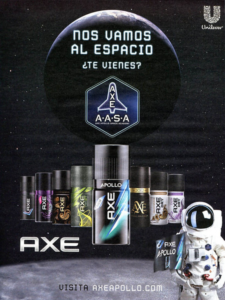 AXE Apollo - Diverse 2013 Spain