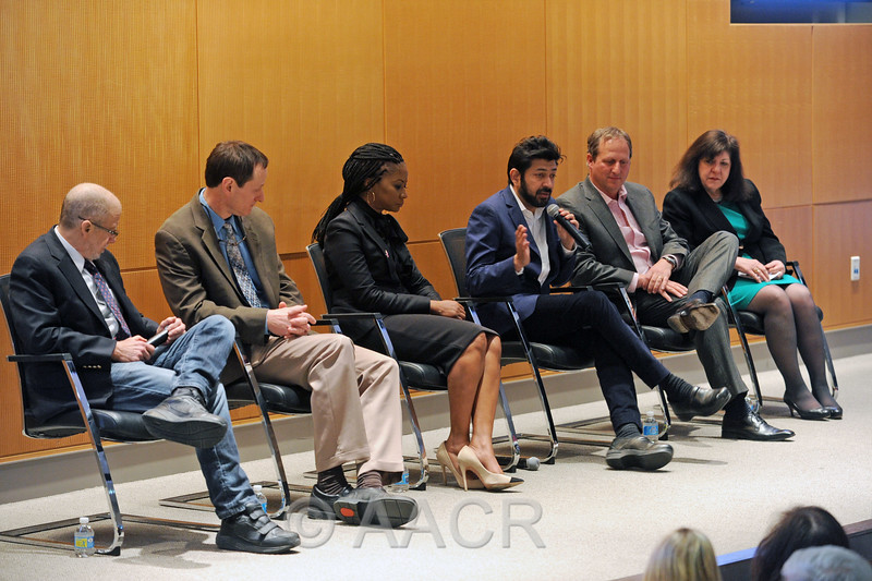 Panelists discuss the state of cancer research.