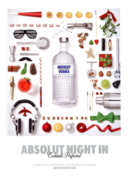 2011 ABSOLUT 'Night In' US (GQ)