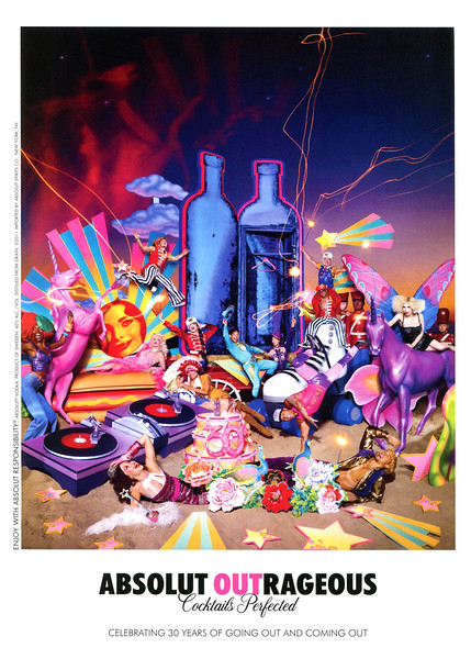 2011 ABSOLUT 'Outrageous' US