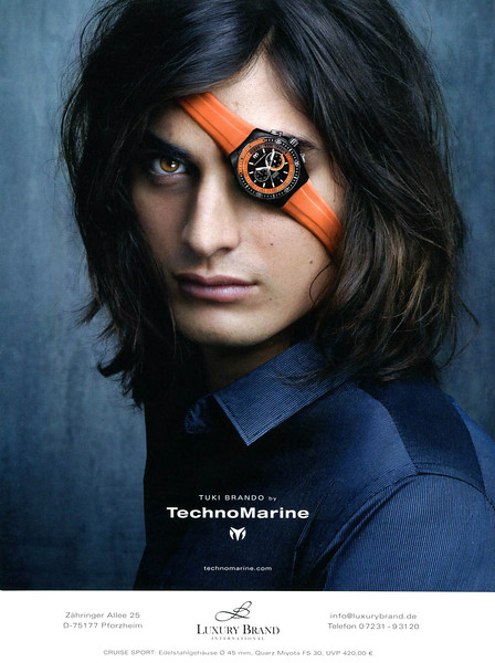 2011 TECHNO MARINE watches Germany (GQ) featuring Tuki Brando