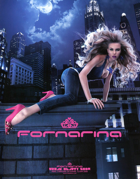 2008 FORNARINA  jeans Italy (Marie Claire)