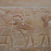 Inside the Mastaba (Tomb) of Idut are many well preserved reliefs.
