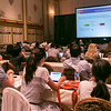 Las Vegas, NV - AHA 2014 BCVS - Gemma Figtree, MBBS, PhD,  discusses Na-K Pumps in Myocardial Function during Session 5:  The Emerging Importance of Diastolic Dysfunction here today, Monday July 14, 2014 during the American Heart Association's Basic Cardiovascular Sciences Sessions (BCVS) being held here at the Paris Hotel in Las Vegas. Photo by © AHA/Todd Buchanan 2014 Technical Questions: todd@medmeetingimages.com