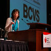 Las Vegas, NV - AHA 2014 BCVS - Elizabeth McNally, MD, PhD,  discusses Genotype-phenotype Interactions in Cardiomyopathy during Session 6:  Genetics and Genomics of Heart Failure here today, Tuesday July 15, 2014 during the American Heart Association's Basic Cardiovascular Sciences Sessions (BCVS) being held here at the Paris Hotel in Las Vegas. Photo by © AHA/Todd Buchanan 2014 Technical Questions: todd@medmeetingimages.com