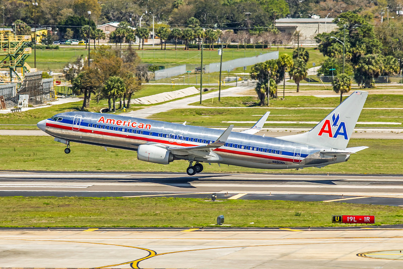 American Airlines, N890NN, Boeing 737-823(WL), msn 31143, Photo by John A Miller, TPA, Image UU027LAJM