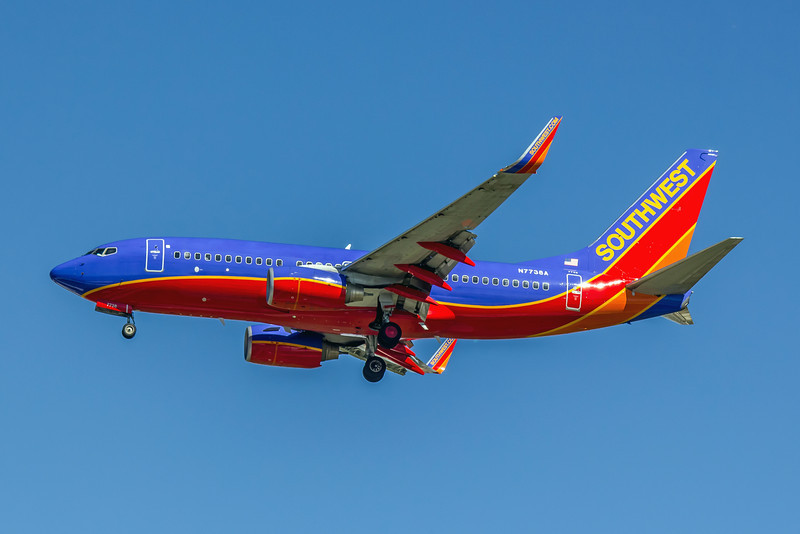 Southwest Airlines, N7738A, Boeing 737-7BD(WL), msn 33930, Photo by John A Miller, TPA, Image T071LAJM