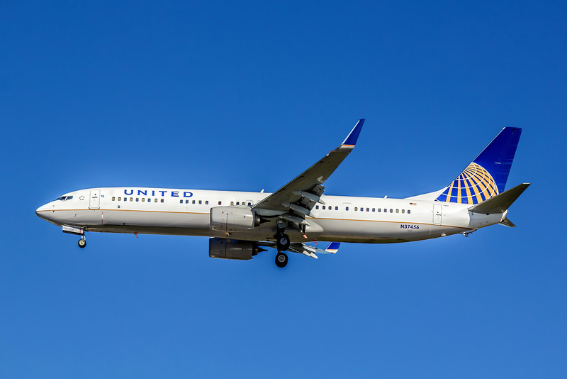 United Airlines, N37456, Boeing 737-924ER(WL), msn 37456, Photo by John A Miller, TPA, Image UA007LAJM