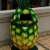 Nothing like a pineapple trash can.