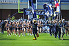 NOV 03 2012:The Georgia Southern Eagles take the field prior to the game against the Appalachian State Mountaineers at Paulson Stadium in Statesboro GA. Appalachian State Mountaineers defeated the Georgia Southern Eagles by a score of 31 to 28.
