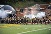 SEP 08 2012:Appalachian State Mountaineers  take the field in their first home game of the season to play against the Montana Grizzlies  at Kidd Brewer Stadium in Boone NC. Appalachian State Mountaineers defeated Montana Grizzlies with a final score of 35 to 27.
