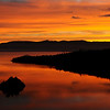 Sunrise, Emerald Bay, Lake Tahoe - No touch ups, No color added, NO KIDDING!