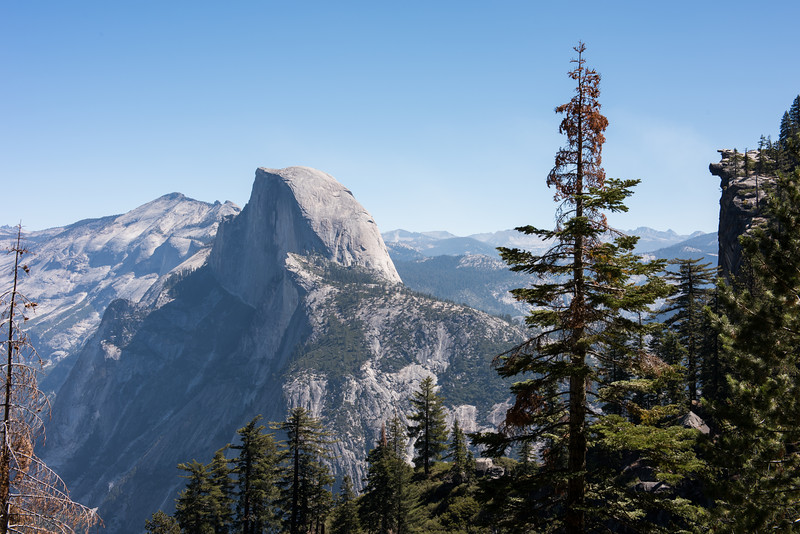 Half Dome and Glacier Point from the Four Mile Trail
