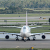 """Date:  10/3/14 - Location:  KMCO<br /> Dep/Arv/Enr:  Arv - RW/Taxi/Ramp:  Taxi E5<br /> Manufacturer:  Boeing<br /> Model:  B747-41R - Reg/Nmb:  G-VXLG<br /> Misc: """"Ruby Tuesday"""""""