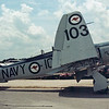 "Date:  unknown - Location:  KLAL<br /> Dep/Arv/Enr:  n/a - RW/Taxi/Ramp:  n/a<br /> Manufacturer:  Hawker <br /> Model:  Sea Fury - Ser/BuNo:  VX302 <br /> Markings:  103/""Conch Fury""/NAVY<br /> Misc:"