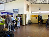 Checking in at Kasane Airport