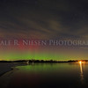 Aurora over Portage Lake, Jackson County, Michigan taken 12/7/2013