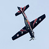 RAF Tucano Plane in flight at the Biggin Hill Air Show