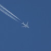 N30913<br> United Airlines<br> Boeing 787-8<br> 24/07/2014<br> <i>Cruising at 38,000 feet on a service from Frankfurt to Houston</i>