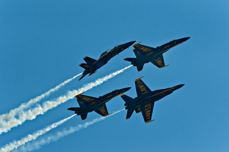 Blue Angels F/A 18 Hornet