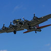 B17 in flight.