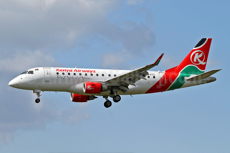 Kenya Airways Embraer ERJ 170-100ST 5Y-KYL (msn 17000146) SEN (Keith Burton). Image: 922639.