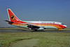 TAAG Angola Airlines Boeing 737-2M2 D2-TBO (msn 22776) JNB (Perry Hoppe). Image: 923100.