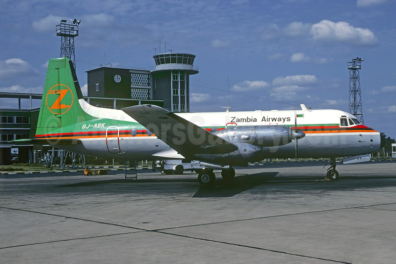 Zambia Airways Hawker Siddeley HS.748-263 Series 2A 9J-ABK (msn 1677) LUN (Christian Volpati Collection). Image: 925891.