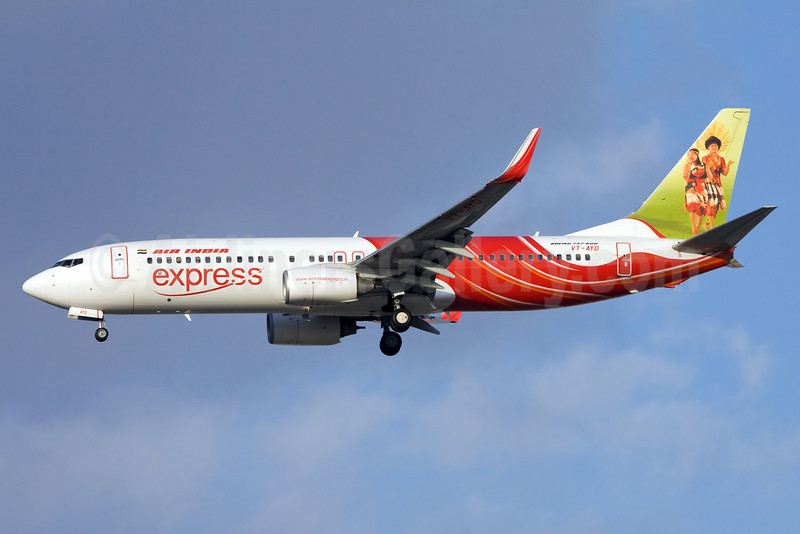 Air India Express Boeing 737-8HG WL VT-AYD (msn 36340 (Nagaland Folk Dance) DXB (Ole Simon). Image: 912199.
