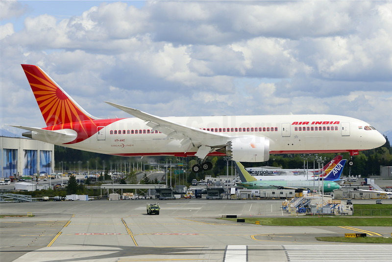 Air India Boeing 787-8 Dreamliner VT-ANC (msn 36274) PAE (Steve Bailey). Image: 922949.