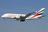 Emirates Airline Airbus A380-861 A6-EEP (msn 138) LAX (Michael B. Ing). Image: 923813.