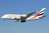 Emirates Airline Airbus A380-861 A6-EEL (msn 133) LAX (Michael B. Ing). Image: 923811.