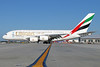 Emirates Airline Airbus A380-861 A6-EEO (msn 136) (Expo 2020 Dubai UAE) LAX. Image: 922568.