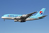 Korean Air Airbus A380-861 HL7612 (msn 039) LAX (Michael B. Ing). Image: 912447.