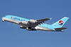 Korean Air Airbus A380-861 HL7614 (msn 068) LAX. Image: 912449.