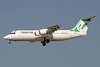 Mahan Air BAe 146-300 EP-MOE (msn E3129) DXB (Paul Denton). Image: 910564.