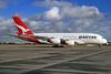 QANTAS Airways Airbus A380-842 VH-OQJ (msn 062) LHR. Image: 926528.