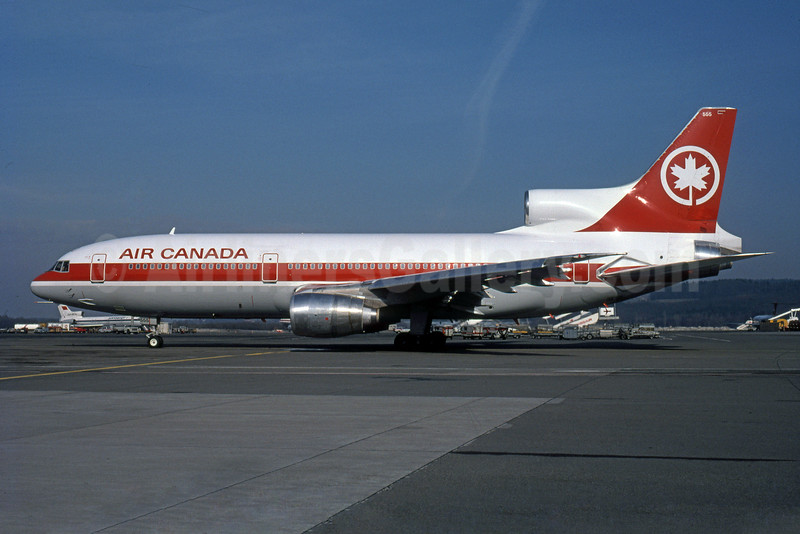Air Canada Lockheed L-1011-385-3 TriStar 500 C-GAGJ (msn 1216) GVA (Rob Rindt Collection). Image: 925486.